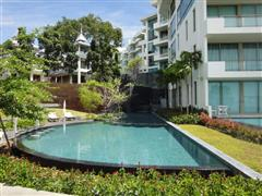Condominium for sale Naklua showing one of the swimming pools