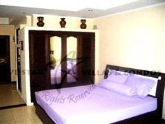 Condominium for rent in Jomtien at View Talay 2A showing the bed