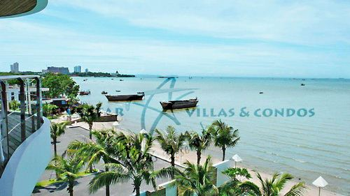 Condominium for rent at Naklua in Ananya showing the ocean views