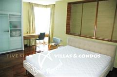 Condominium for rent in Naklua at Ananya showing the bedroom area