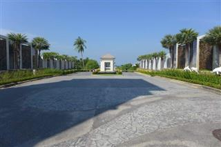 Land for sale Na Jomtien Pattaya within gated community