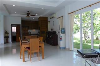 House For Sale East Pattaya showing the dining room and kitchen