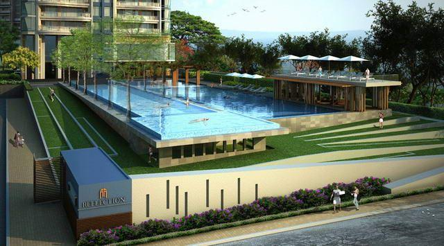 Condominium for sale in Jomtien showing swimming pool