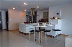 Condominium for sale in Na Jomtien showing dining kitchen area