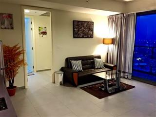 Condominium for sale at Zire Pattaya showing the living area