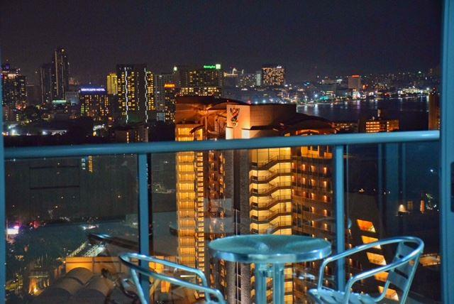Condominium for sale at Zire Pattaya showing the balcony and view