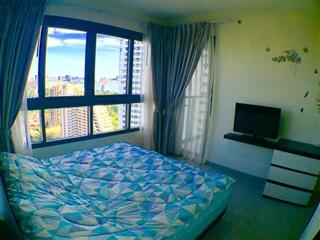 Condominium for sale at Zire Pattaya showing the bedroom