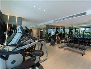 Condominium for sale Pattaya showing the communal Gym