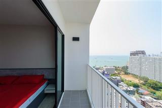 Condominium for sale Pattaya showing the balcony views