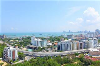 Condominium for sale Pattaya showing the views