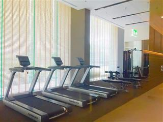 Condominium for sale Pattaya showing the gymnasium