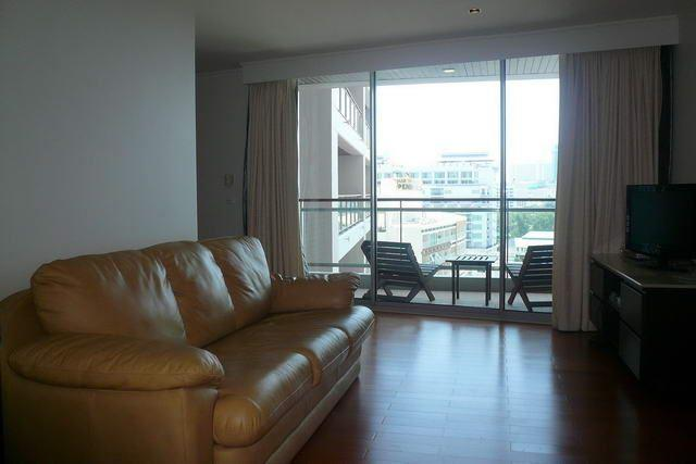 Condominium for sale in Pattaya showing sitting near to the balcony