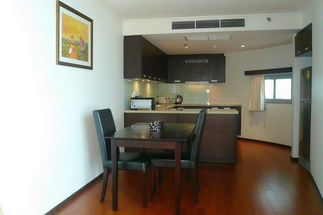 Condominium for sale in Pattaya showing the dining kitchen area
