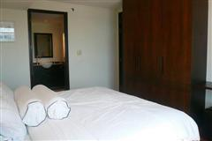 Condominium for sale in Pattaya showing the bedroom area