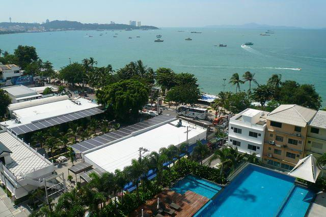 Condominium for sale in Pattaya showing the view