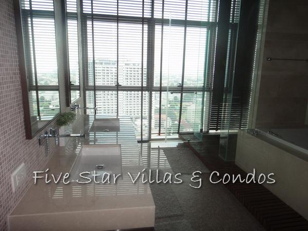 Condominium for sale on Pattaya Beach at Northshore showing a bathroom