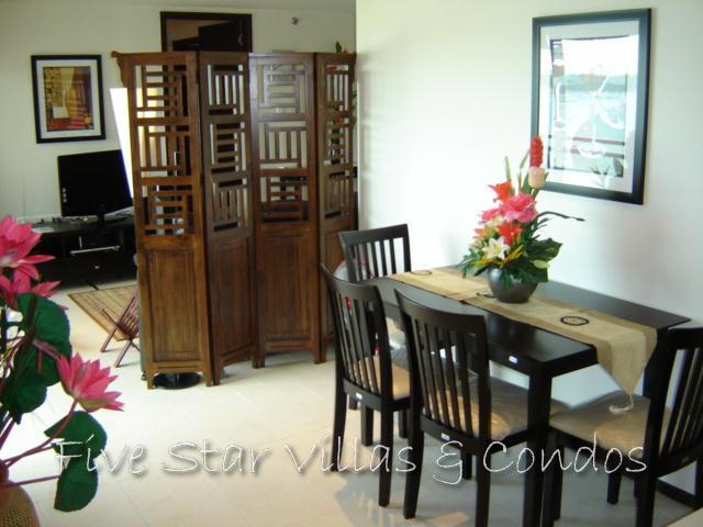 Condominium for sale in Pattaya at Northshore showing the open plan concept