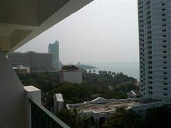 Condominium for sale in Naklua Wong Amat showing the view south