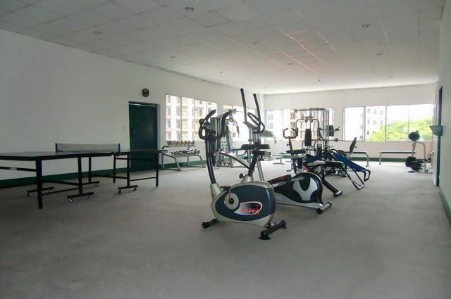 Condominium for sale in Naklua Wong Amat showing the fitness centre