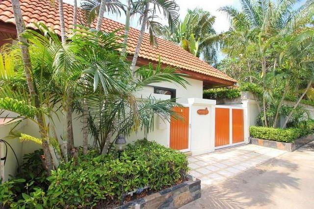 House for sale Jomtien showing the house frontage