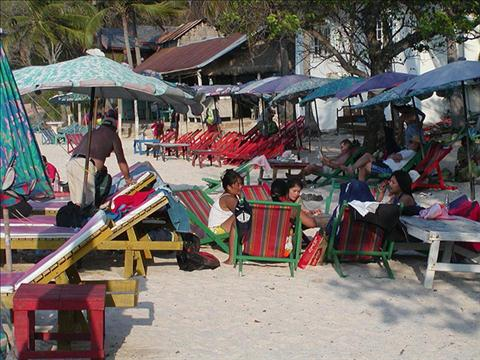 A LAZY DAY ON KOH LARN