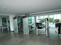 Condominium for rent in Jomtien AMAZON RESIDENCE showing the gymnasium
