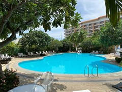 Condominium for rent Jomtien showing the communal pool