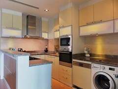 Condominium for rent Ananya Naklua showing the kitchen
