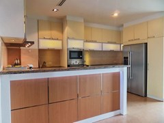Condominium for rent Ananya Naklua showing the kitchen area