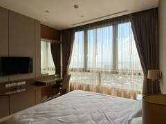 Condominium for rent Northpoint Pattaya showing the third bedroom and view