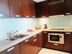 Condominium for rent in Northshore Pattaya showing the kitchen