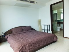 Condominium for rent in Northshore Pattaya showing the second bedroom suite