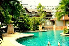 Condominium for Sale Jomtien at THABALI showing the communal pool