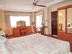 Condominium for Sale Jomtien at THABALI showing the master bedroom