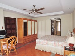 Condominium for Sale Jomtien at THABALI showing the master bedroom suite