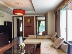 Condominium for sale Pattaya showing the living area