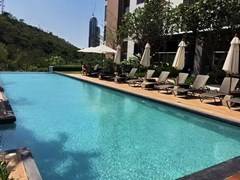 Condominium for sale UNIXX South Pattaya showing the communal swimming pool