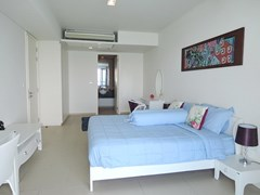 Condominium for sale Womgamat Beach Pattaya showing the second bedroom suite