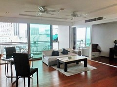 Condominium for sale Northshore Pattaya showing the living and office areas