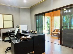 Golf Resort for sale Pattaya area showing the office and reception area