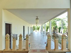 Golf Resort for sale Pattaya area showing the Apartment terrace