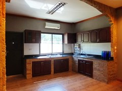 Golf Resort for sale Pattaya area showing the European kitchen