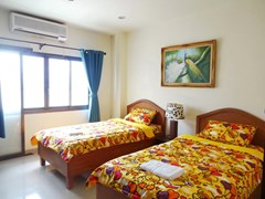 House for rent Jomtien Pattaya showing the second bedroom