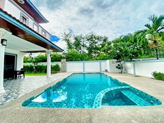 House for rent Jomtien showing the private pool
