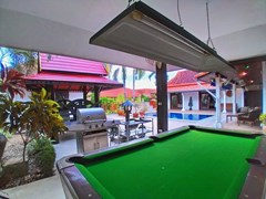 House for rent Mabprachan Pattaya showing the entertainment area
