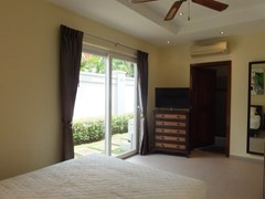 House for rent Pattaya at Siam Royal View showing the second bedroom suite