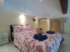 House for rent Pattaya showing the mezzanine sleeping area