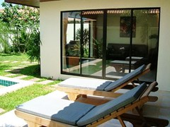 House for rent View Talay Villas Jomtien Pattaya showing the terrace