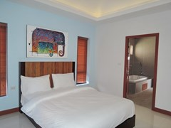 House for sale at Bangsaray Pattaya showing the second bedroom suite
