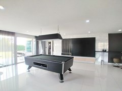 House for sale East Pattaya showing the entertainment room and covered terrace